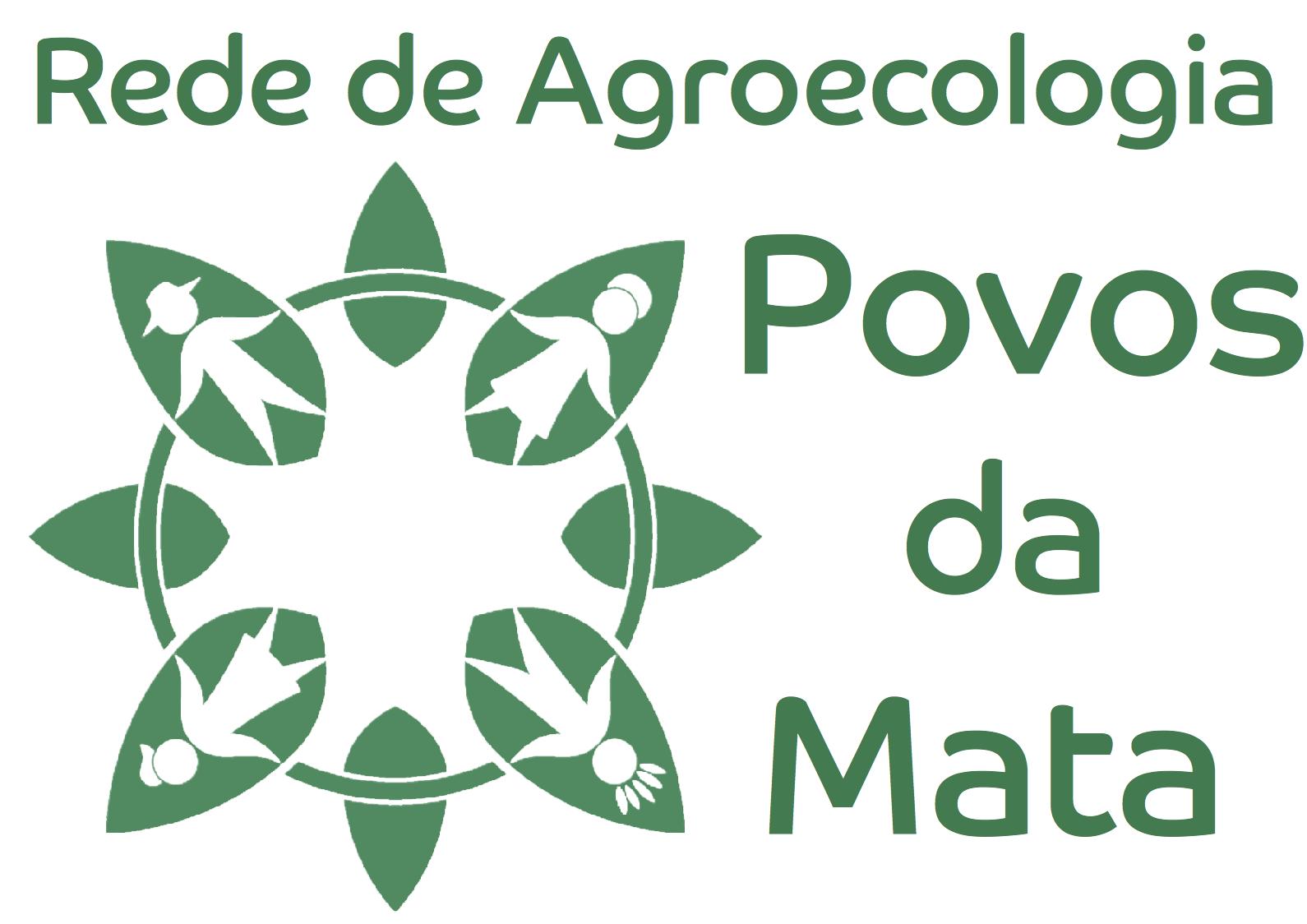 Povos da Mata Rede de Agroecologia logo